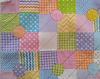 Ric Rac small baby quilt