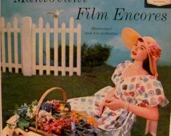 Mantovani Film Encores  Album Cover