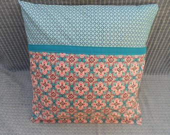 Pillow cover / modern and colorful pillow 40 x 40 cm