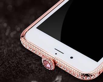 Crystal Diamond Bumper Case for iPhone