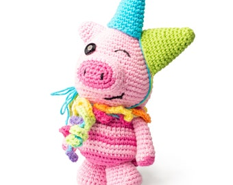 Party Animal Amigurumi Pattern US Terms