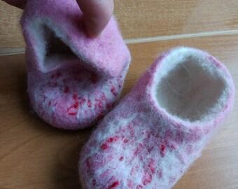 children's slippers from dog hair