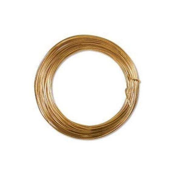 Anodized Aluminum Wire 12 Gauge Tangerine 41383 Jewelry