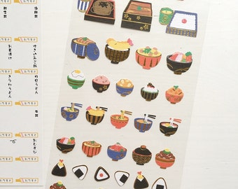 SALE 40% OFF Donburi Stickers / Japanese Series Stickers