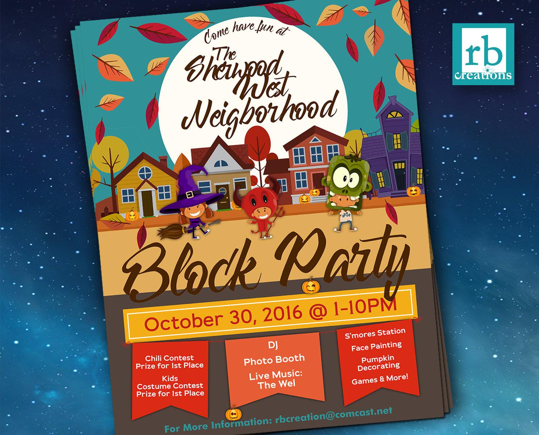 block party flyers - Dorit.mercatodos.co
