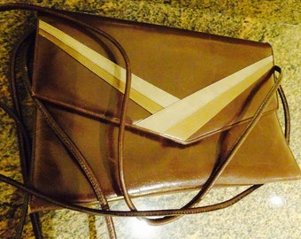 STUNNINGLY Beautiful High Quality Leather Handbag MADE In Italy By 'Magli' - Lovely!!