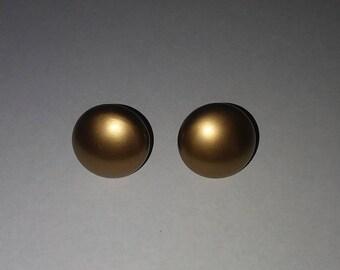 Clip on Vintage earrings 1 in len-earrings-vintage earrings-earrings gift- clip ons- clip on earrings- womans earrings-