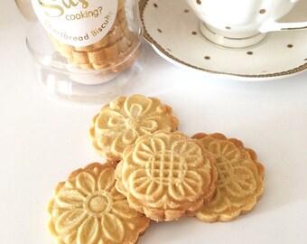 Handmade Shortbread Biscuit Gift Jar - Shortbread Biscuits - Gift Jar with Biscuits - Shortbread Gift