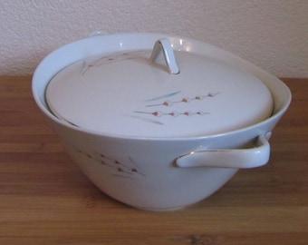 Scale serving Bowl porcelain Zeh Scherzer Bavaria Germany