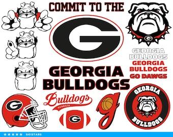 Bulldogs svg – Georgia Bulldogs svg – Bulldogs clipart – Go Dawgs svg – Go Dawgs clipart – raster, vector files – svg, pdf png dxf eps
