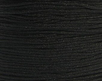 Nylon thread 0,8mm black 10m