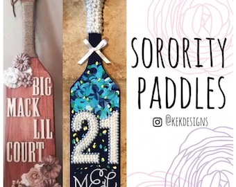 Sorority paddles | Etsy