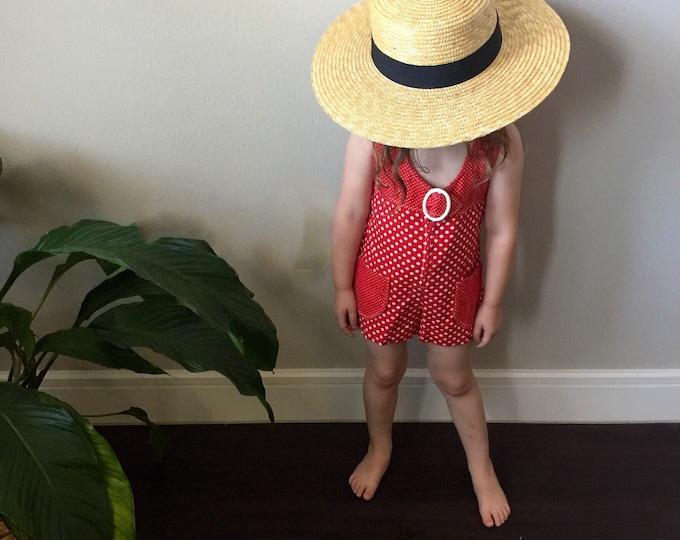 vintage toddler romper