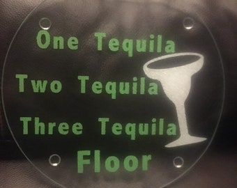One Tequila Two Tequila Cutting Board