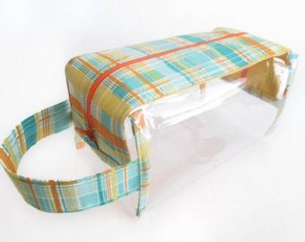 Clear Vinyl Box Bag