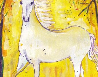 Horse Spirit - Animal Guide Art