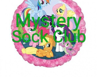 My Little Pony Mystery Sock Club (INTERNATIONAL)