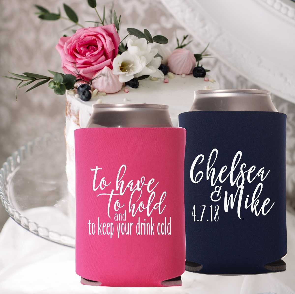 to have to hold drink cooler | keep your beer cold | Wedding Favors ...