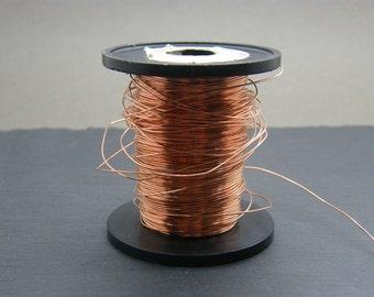 Copper wire ~ 0.6mm bare copper ~ Antique copper wire ~ 22g copper wire ~ Jewellery supplies ~ Wire wrapping ~ Jewelry wire ~ UK supplier