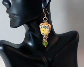 "Traditional Sicilian Earrings ""Bummulu"""