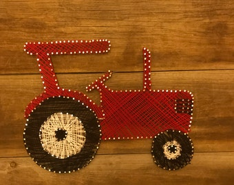 String Art Tractor