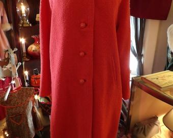 1960s Ladies Spring Wool Coat