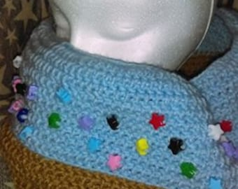 Donut Cowl with Sprinkles