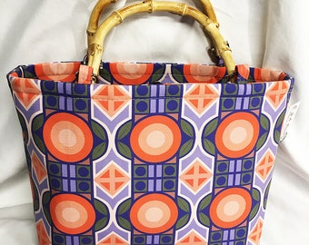 Handbag - Mod Deco Tropical