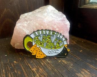 Guacamolly Pin Avocado Guacamole MDMA Molly EDM Rave Festival Hat Snapback Lapel