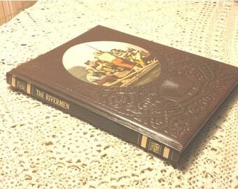 Vintage Time Life Books, 1970s, THE RIVERMEN The Old West  Riverboats Accounts Experiences from 1930s-On,  by Author Paul O'Neal