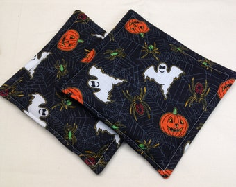 Halloween print potholders Set of 2