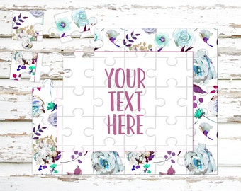 Create Your Own Puzzle - Pregnancy Announcement - Custom Puzzle - Personalized Puzzle - Announcement Ideas - Wedding Announcement - CYOP0083