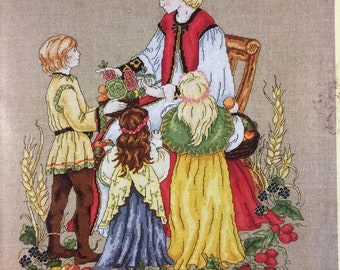 Harvest Festival - Cross Stitch Chart by DMC - NEW