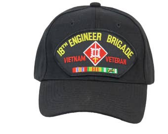 18th Engineer Brigade Vietnam Veteran Cap