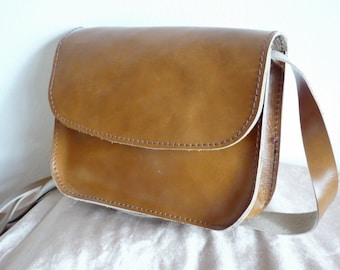 Small Leather Cross Body Bag, Shoulder Bag, Leather Bag Purse, Leather Satchel