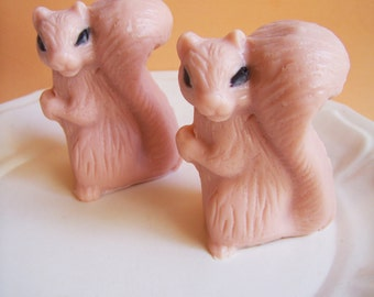 Squirrel Soap Set - Animal Soap, Fall Soap, Acorn, Woodland Soap, Peanuts, Soap Gift, Novelty Soap, Kids Bath, Children Soap, Soap Favors
