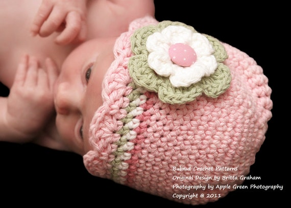 Baby Hat Crochet Pattern With Shell Trim Crochet Hat Pattern In