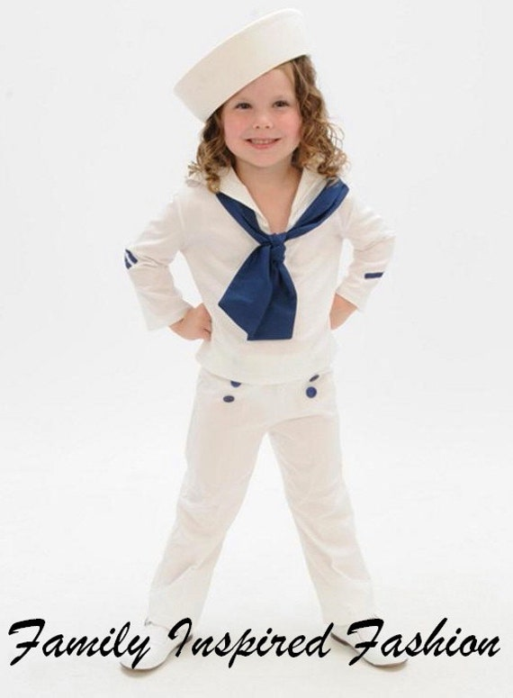 Like this item?  sc 1 st  Etsy & Toddler girls Shirley Temple sailor inspired sailor suit