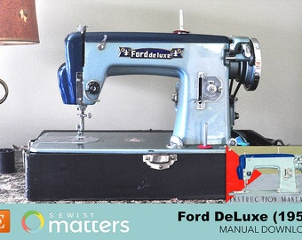 Ford DeLuxe Sewing Machine (1959) Manual PDF Download