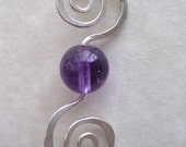 Spiral Into Amethyst Neck...