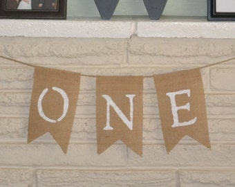 3 Flag Custom Burlap Banner, Photo Prop, Party Banner