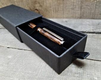 Gift Box Black Felt Gift Box Pen Gift Box Seam Ripper Gift Box Shave Razor Gift Box Pocket Pen Box Black Felt Interior Deep Pocket Pen Box