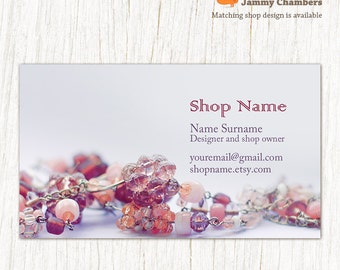 Etsy Your Place To Buy And Sell All Things Handmade - Jewelry business card templates