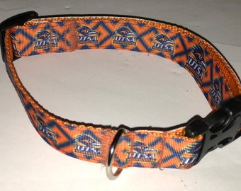 UTSA Dog Collars, Breakaway Cat collars  - all sizes - pet collars that are Adjustable and Reinforced