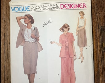 Vogue American Designer Pattern 1842