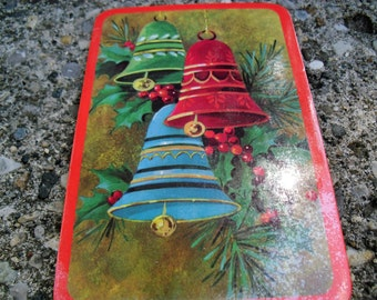 Vintage Christmas Postcards Christmas Greeting Cards Christmas Bells Card