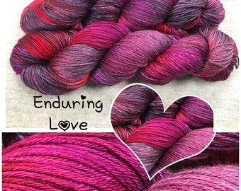 Enduring Love Hand Dyed Yarn