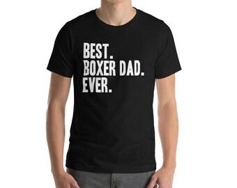 Boxer Dog Shirt Dad Pet Boxer T-Shirt