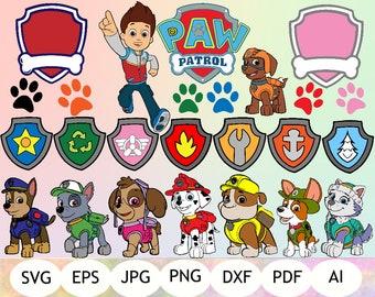 Paw Patrol SVG, Paw Patrol Clipart, Paw Patrol Printable, Digital Item