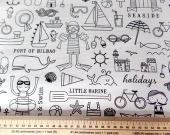 Coloring the children meter fabric